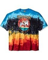 Liquid Blue Men's LED Zeppelin Icarus 1975 Tie Dye Short Sleeve T-Shirt