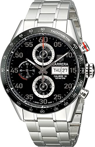 Tag Carrera Watch >> Tag Heuer Men S Cv2a10 Ba0796 Carrera Automatic Chronograph Watch