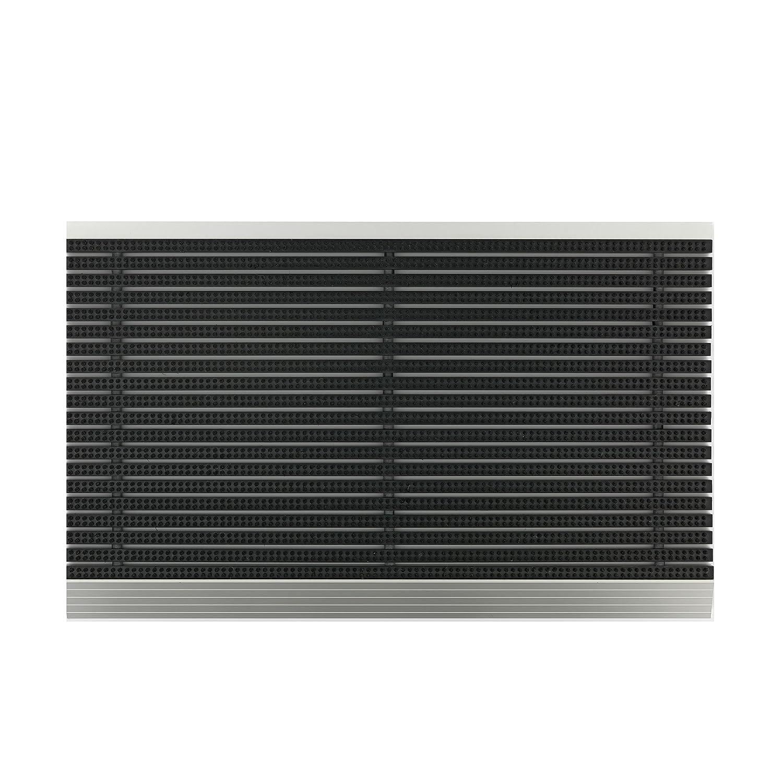Astra Power Brush Fußmatte Schwarz 46x75 cm