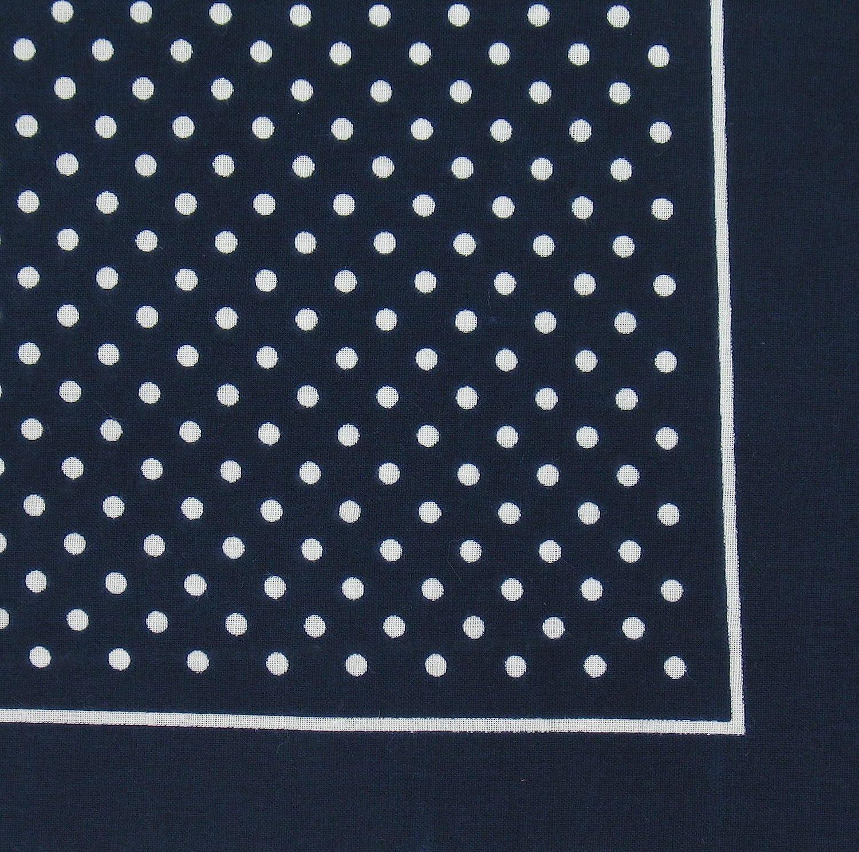 Bandana or Large Handkerchief Red Polka Dots B1