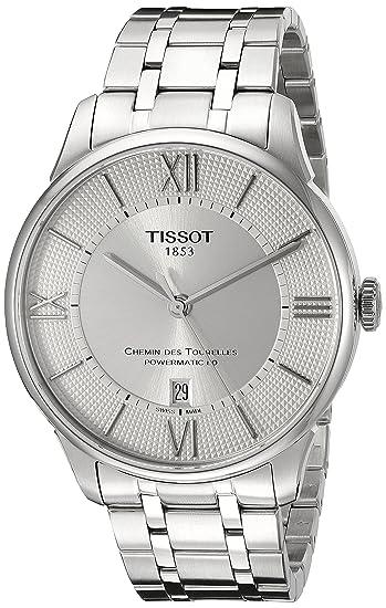 Tissot Reloj Analógico para Hombre de Cuarzo con Correa en Acero Inoxidable T0994071103800