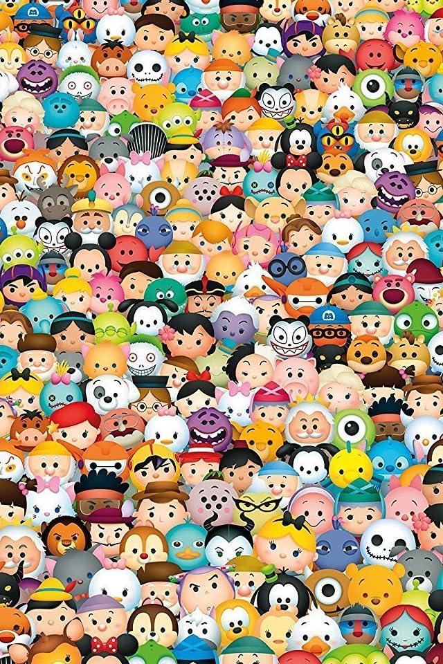 ディズニー TSUM TSUM Disney iPhone(640×960)壁紙 画像73101 スマポ