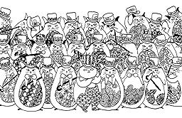 A Million Cats Fabulous Felines To Colour Amazoncouk Lulu Mayo 9781782435693 Books