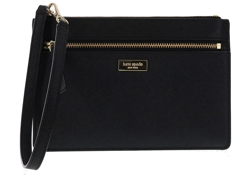 Kate Spade New York Tinie Laurel Way Saffiano Leather Wristlet Handbag Clutch