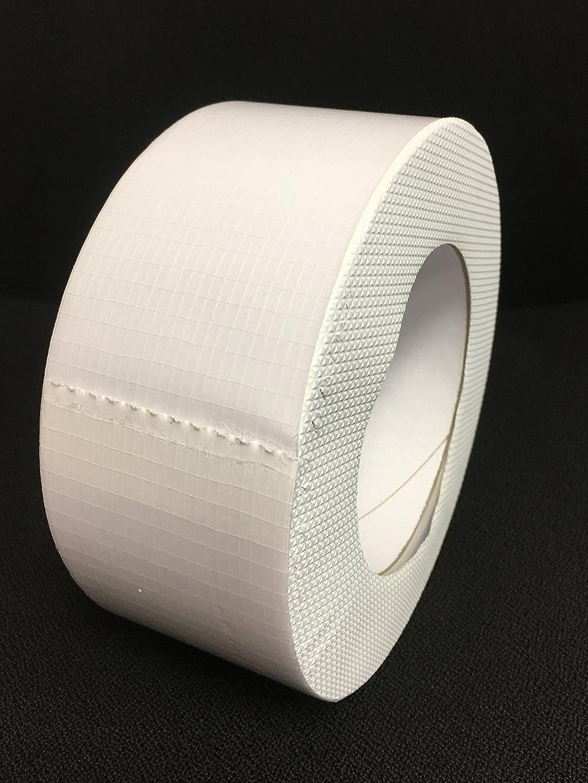 Silo nastro nastro rinforzato tessuto colore bianco nastro adesivo serra anche per il del meccanismo di Agricola fogli silo balle di verdure Tunnel speciale nastro per tutte le stagioni 100/% impermeabile resistente a raggi UV 60/mm 25/m 1/Ro
