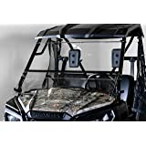 """Compatible with Honda Pioneer 500 Full Tilting UTV Windshield 3/16"""" - Models 2017+ - Made in the USA!."""
