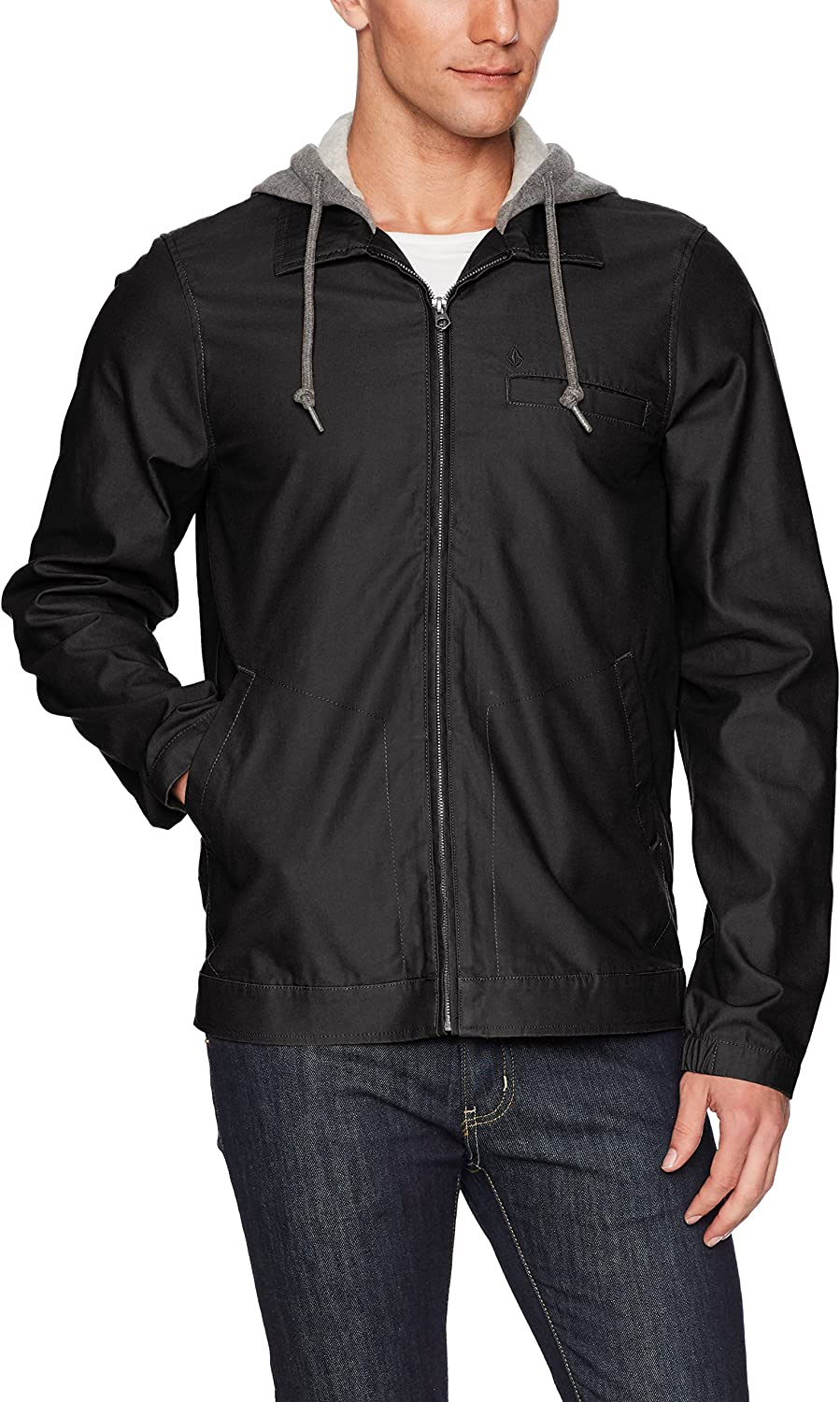 Volcom Men's Lightweight Warren Jacket at  Men's Clothing store