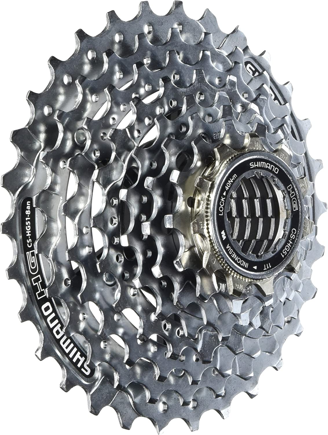 Road Bike Shimano CN-HG40 6//7//8-Speed 116-Links Chain for 18//21//24-Speed MTB
