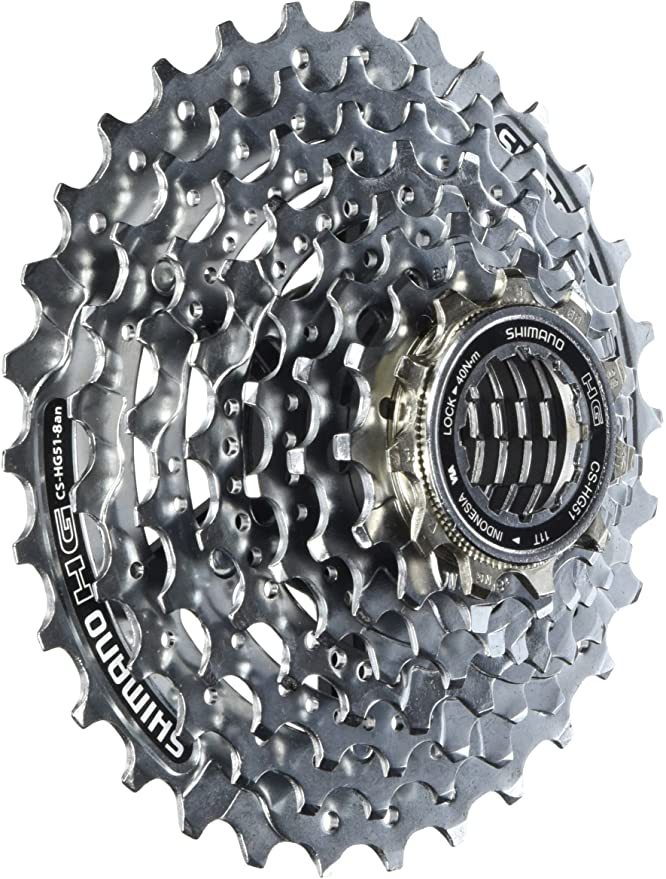 Shimano Acera HG41 8 Speed Cassette All Sizes