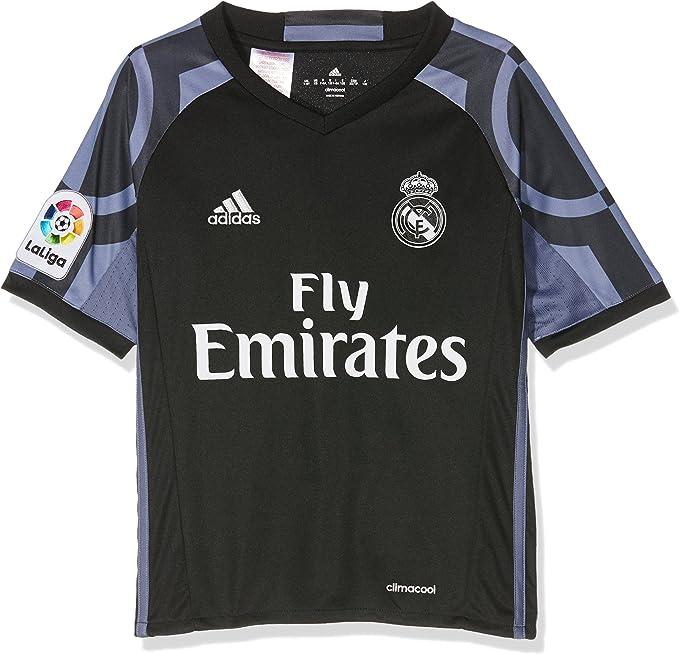 adidas Real Madrid 3 JSY Y Camiseta 3ª Equipación Real Madrid CF 2015/2016 Niños: Amazon.es: Deportes y aire libre