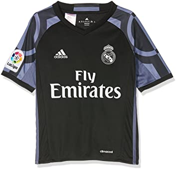 Adidas 3 JSY Y Camiseta 3ª Equipación Real Madrid CF 2015/2016, Niño: Amazon.es: Deportes y aire libre