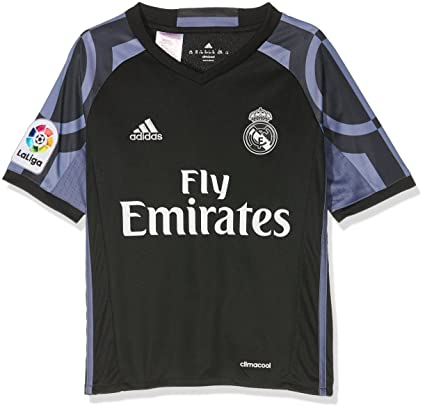 adidas Real Madrid Kids Third Football Shirt 2016-17-7-8 Years