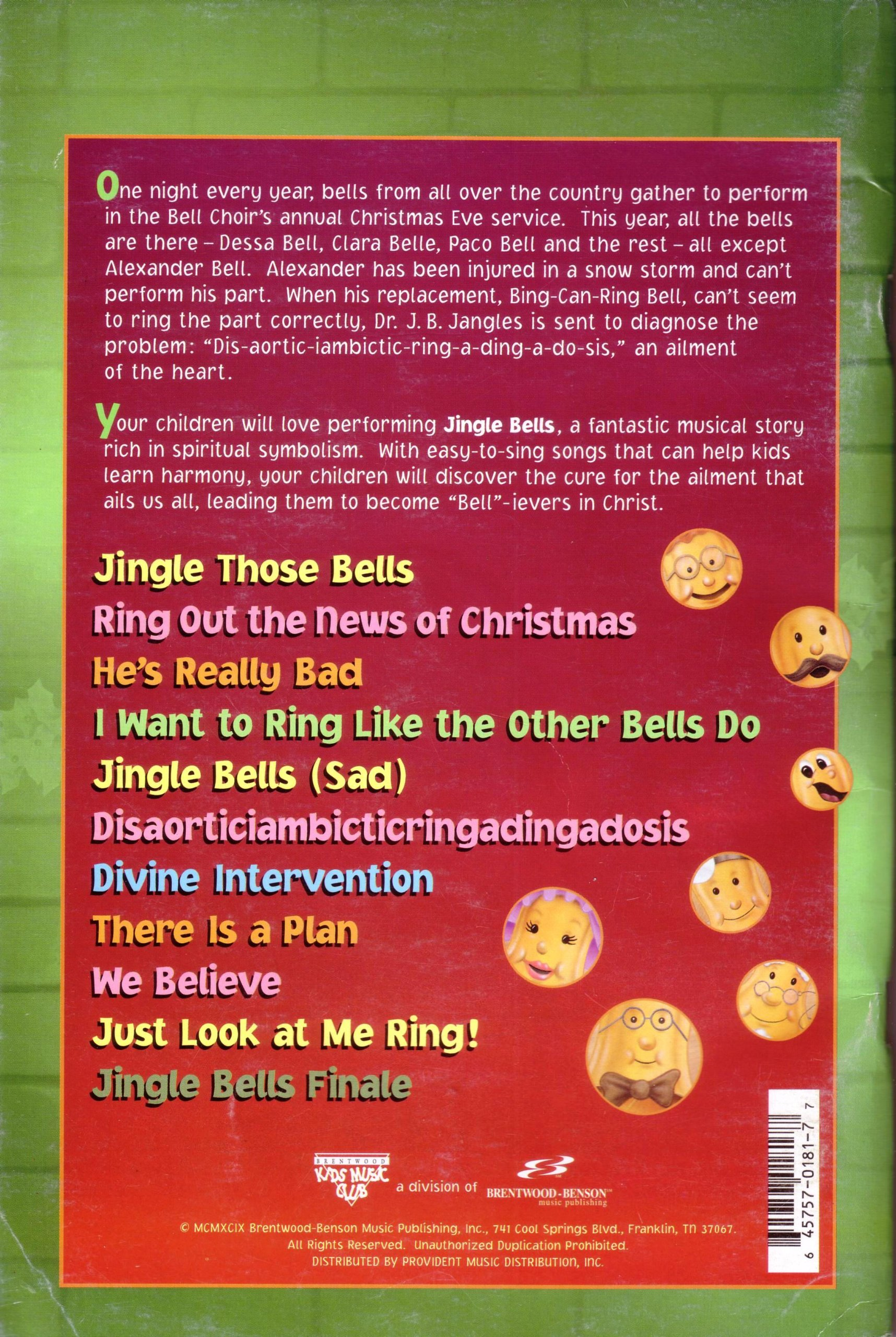 Jingle Bells A Childrens Musical For Christmas Pam Andrews