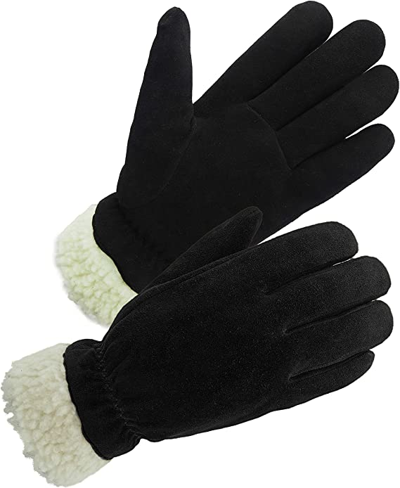 Lovers Knitted Winter Thermal Thinsulate Insulation Lined Touch Screen Gloves DU