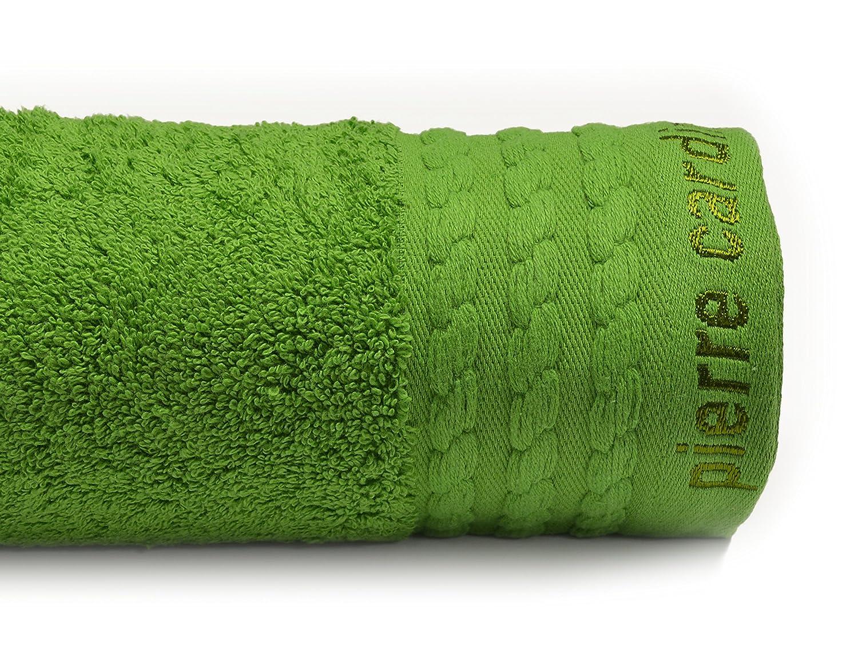 Pierre Cardin Toallas Vendome, Algodón, Verde, 26x16x0.2 cm: Amazon.es: Hogar