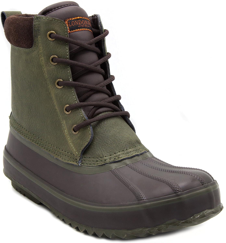 sports shoes f9e9f c1edb Amazon.com  London Fog Mens Ashford Waterproof and Insulated Duck Boot   Shoes