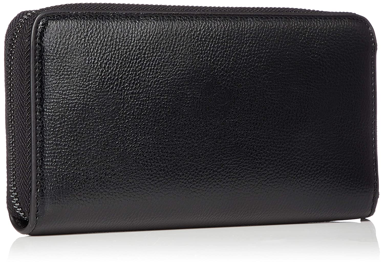 4b9aa48cb9 Armani Exchange Wristlet Round-zip, Women's Wallet, Black (Nero),  11.0x2.0x20.0 cm (B x H T): Amazon.co.uk: Shoes & Bags