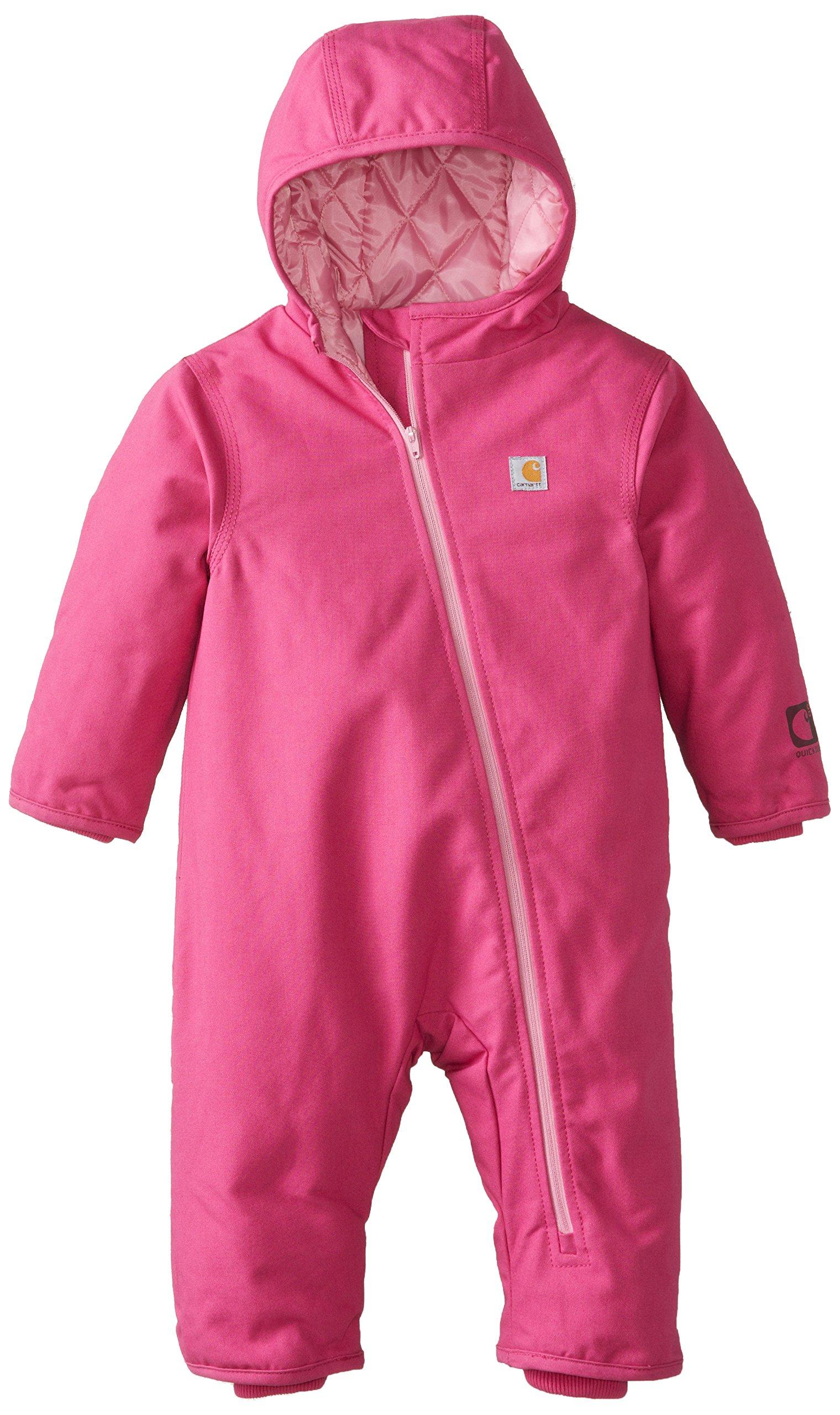 9914477d0c2b Amazon.com  Carhartt Baby Girls  Quick Duck Snowsuit