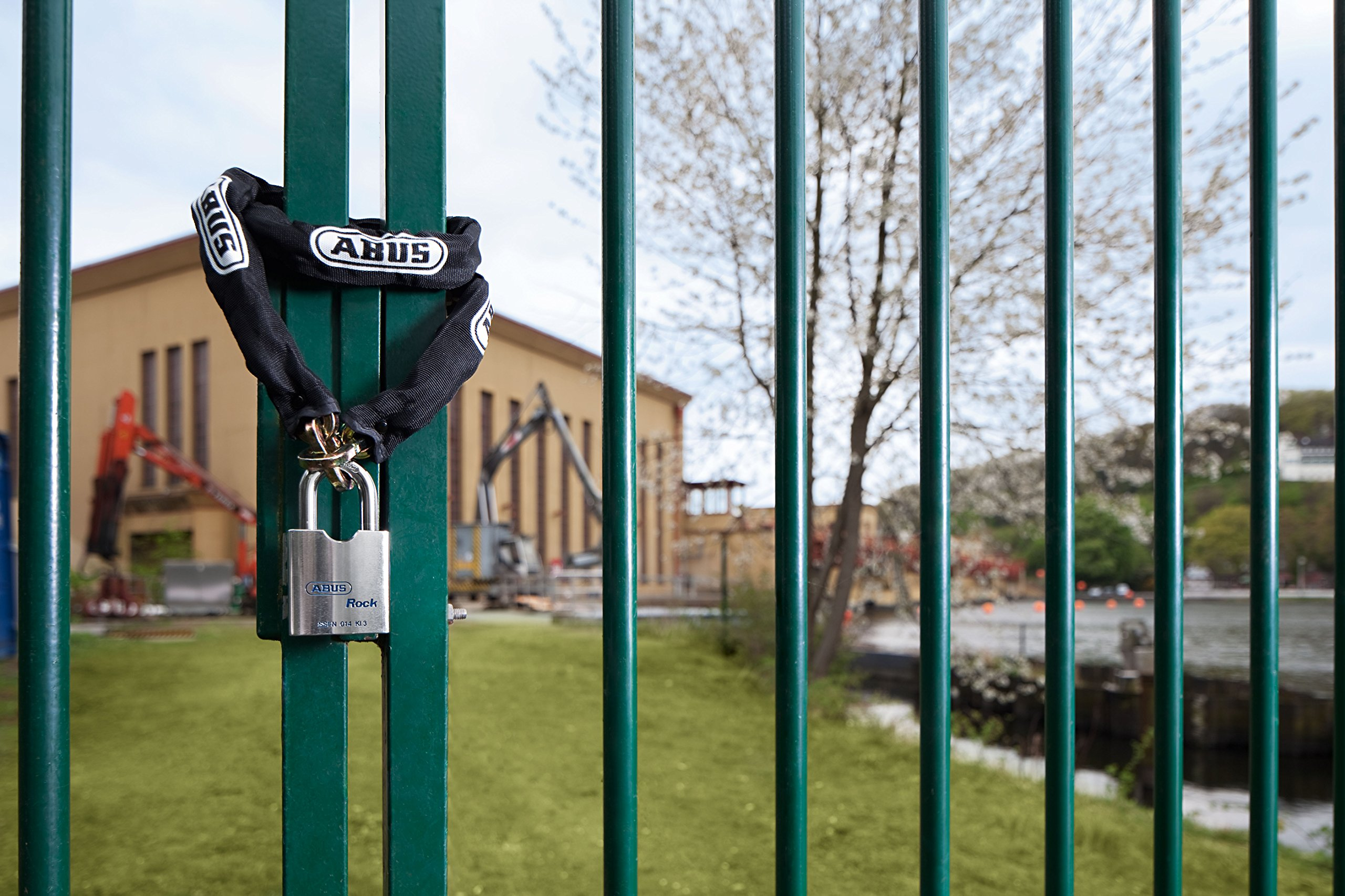 ABUS 6KS 10' Maximum Security Square Chain and Sleeve - 1/4'' Diameter Chain Link by Abus Lock (Image #3)