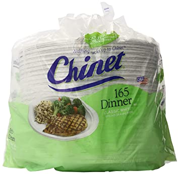 Chinet Classic White Paper Dinner Plates 10 3/8 Inch 165 Count  sc 1 st  Amazon.com & Amazon.com: Chinet Classic White Paper Dinner Plates 10 3/8 Inch ...