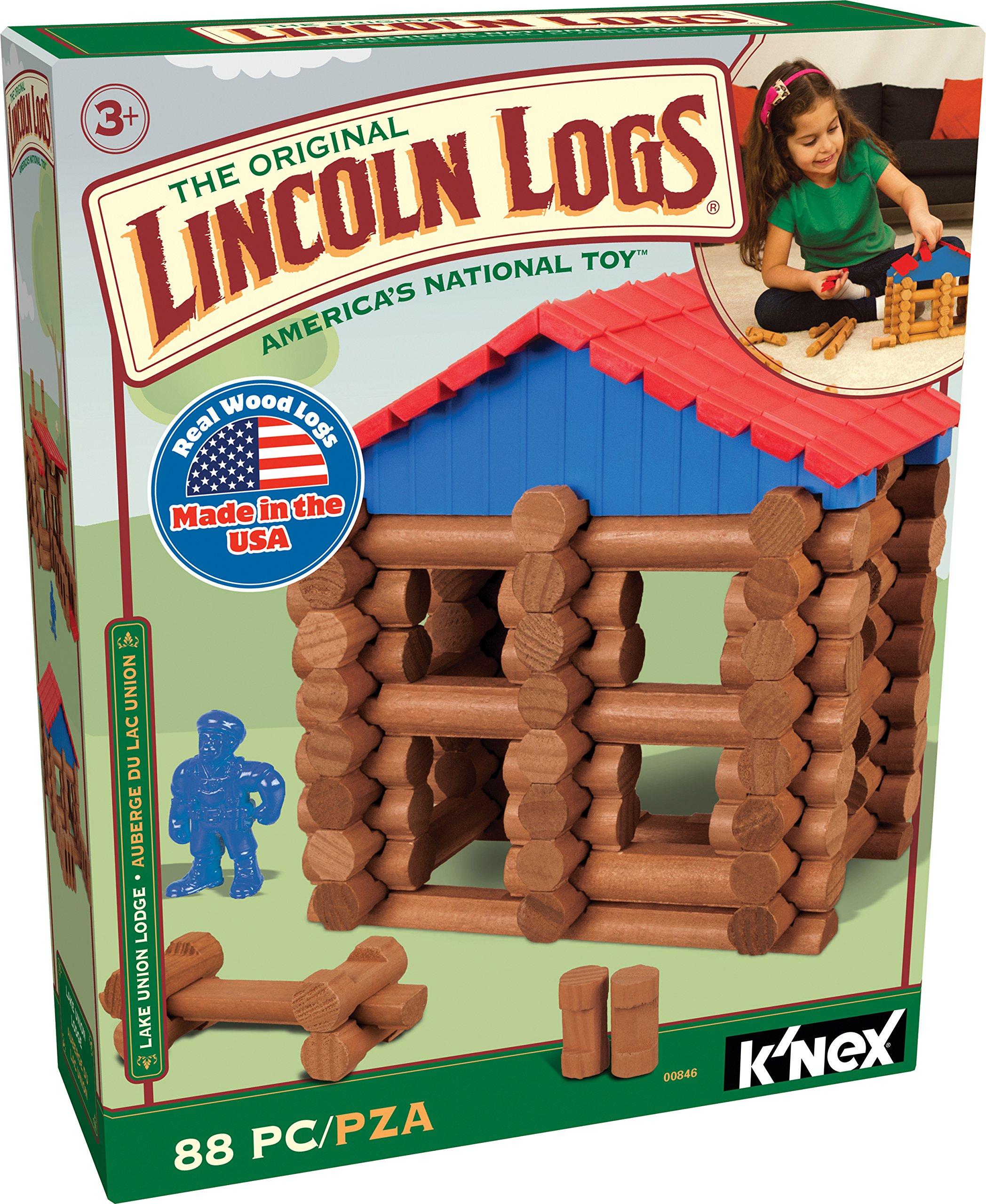 Lincoln Logs Lake Union Lodge 2