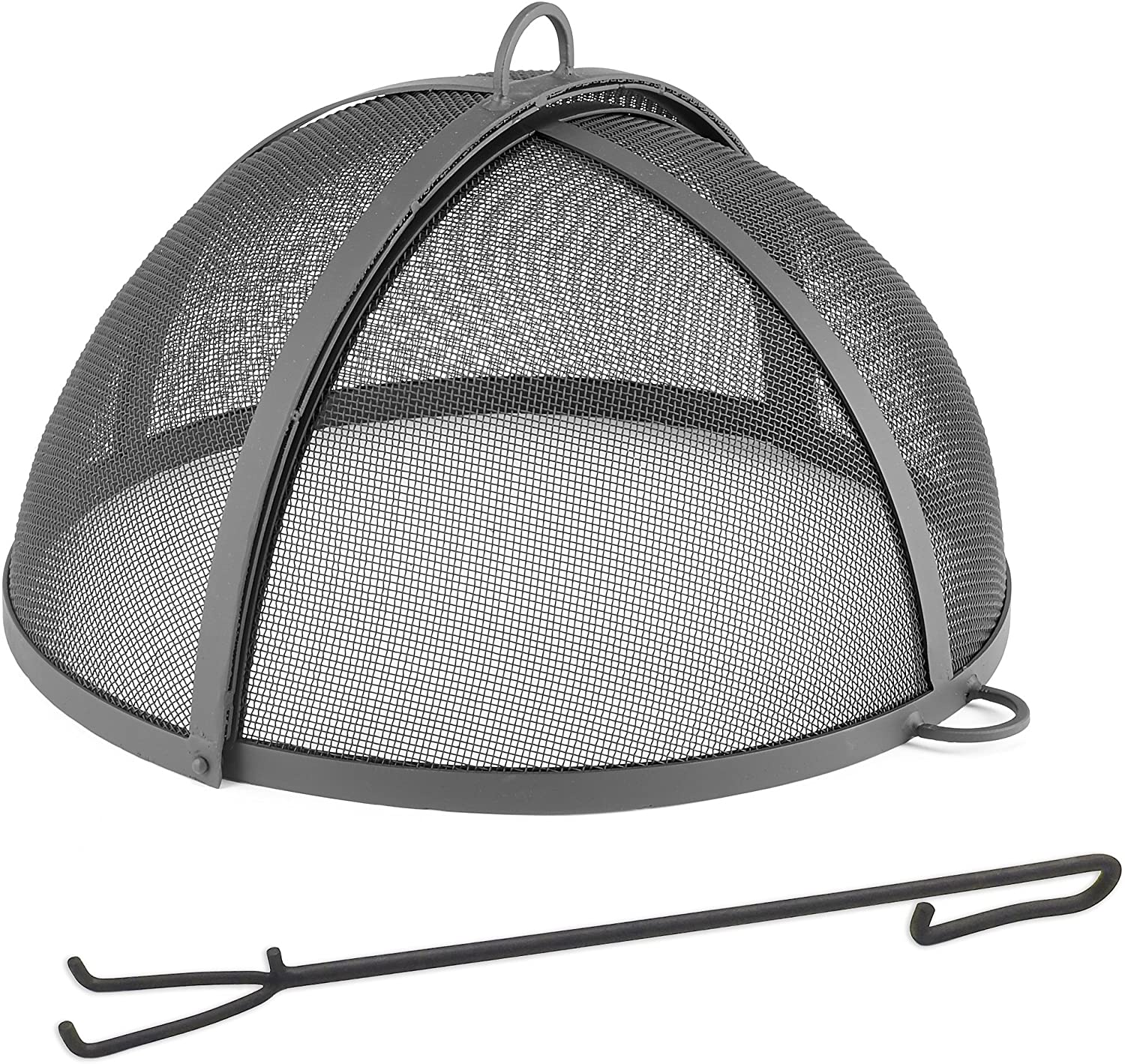 Good Directions 30″ Large Spark Screen – Best Waterproof fire pit spark screen