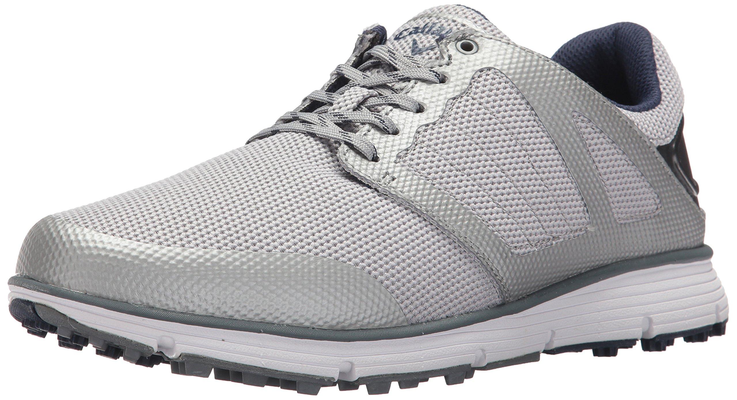 Callaway Men's Balboa Vent 2.0 Golf Shoe, Grey, 10.5 2E 2E US