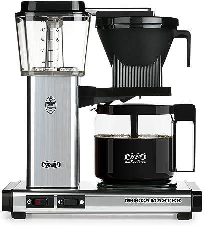 Technivorm 59616 KBG Coffee Brewer, 40 oz, Polished Silver