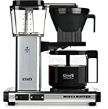 Technivorm Moccamaster KBG 59616 10-Cup Coffee Brewer with Glass Carafe, Polished Silver