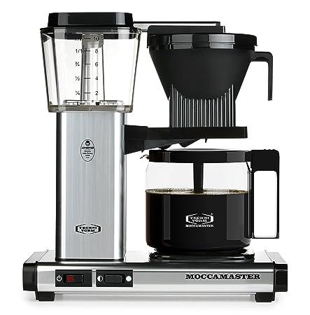 Technivorm Moccamaster 59616 KBG Coffee Brewer, 40 oz, Polished Silver