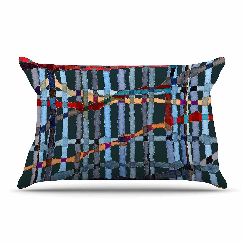 Kess InHouse Midnight Bamboo Pillow Sham 40 x 20