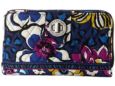 cbc1bee740 Amazon.com  Vera Bradley Turn Lock Wallet (African Violet)  Shoes