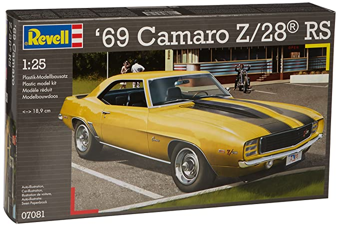 Revell 1:25 Scale 1969 Camaro Z-28 RS