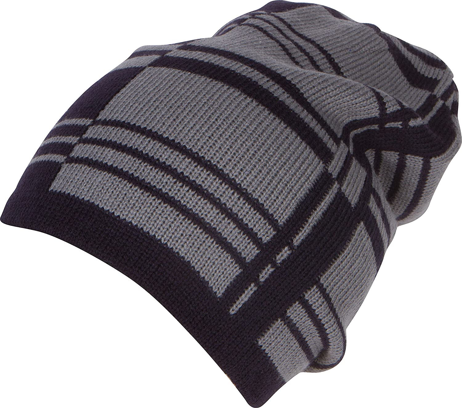 e9c23beced7 Sakkas SL171 - Remi Slouchy Beanie Knit Hat Warm Simple and Classic - 1766-black  - OS  Amazon.co.uk  Clothing