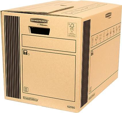 Bankers Box 6206502 - Caja de transporte y mudanza resistente, 35 ...
