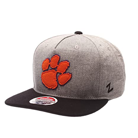 Image Unavailable. Image not available for. Color  ZHATS NCAA Clemson Tigers  Men s Boulevard Snapback Cap ... 0265ff74713c