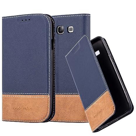 45fca6eb8a3 Cadorabo Funda Libro para Samsung Galaxy S3 / S3 Neo en Azul MARRÓN:  Amazon.es: Electrónica