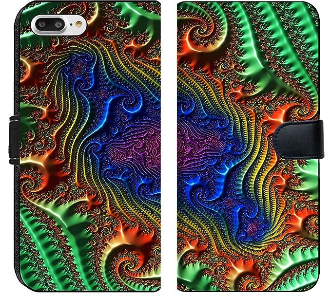 Amazon Com Apple Iphone 7 Plus Flip Fabric Wallet Case Image Of