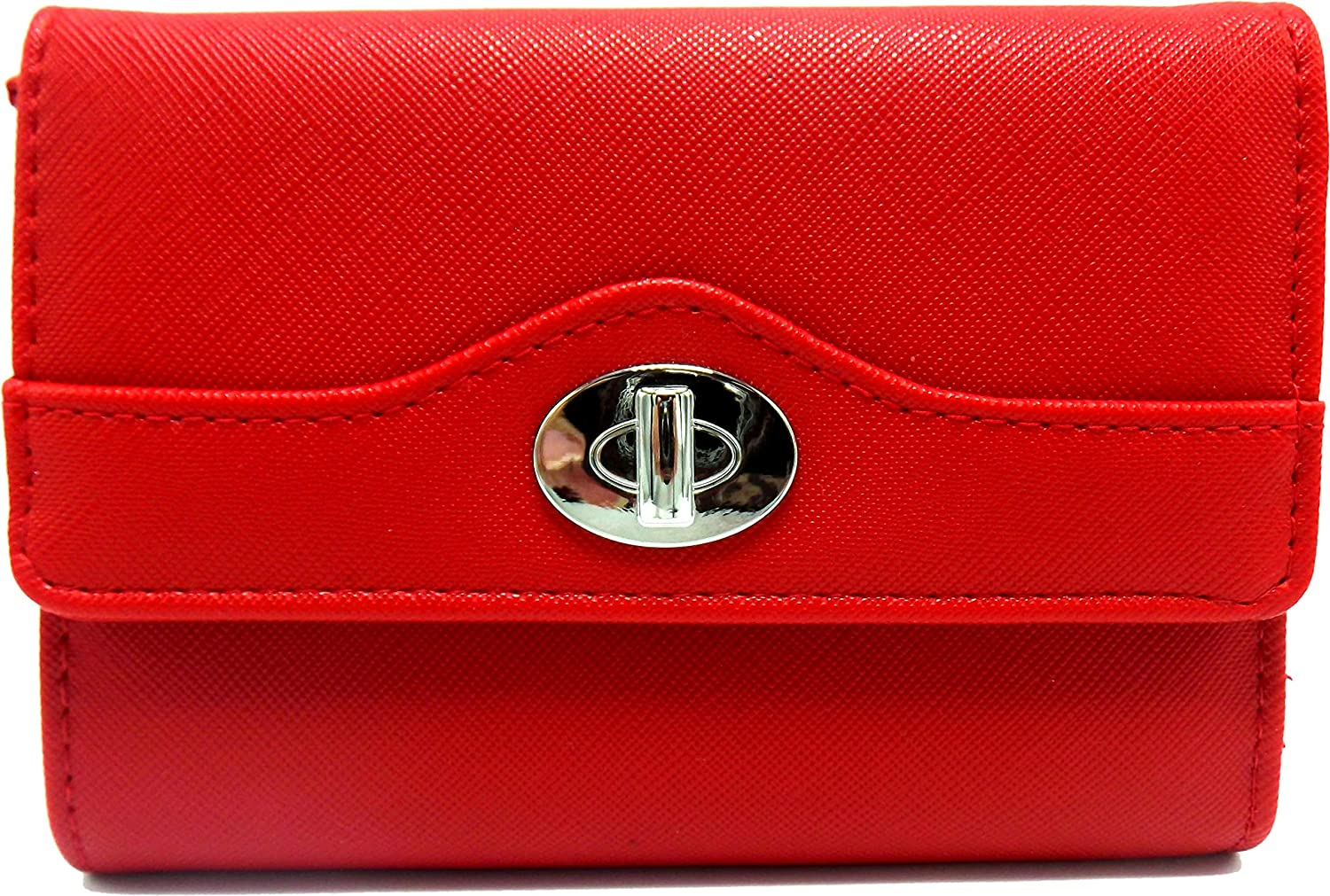 Indexer Women's Faux Leather Mundi Wallet Ladies RFID Protection One Size i875x