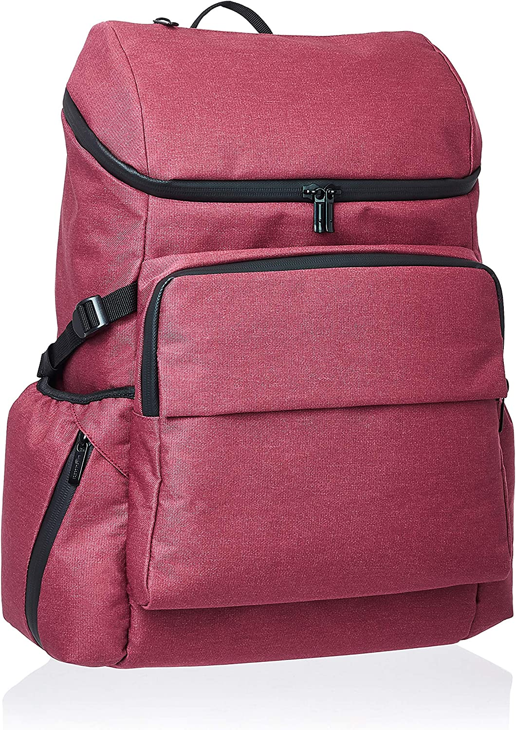 AmazonBasics Urban Backpack for Laptops up to 15-Inches - Maroon