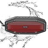 [27 Stunden Spielzeit] OUTXE IP66 Wasserdicht Bluetooth Lautsprecher 10W Musikbox Bluetooth
