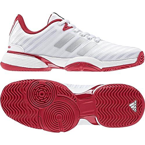 Adidas Barricade 2018 Xj, Zapatillas de Tenis Unisex niño, Blanco Negbas/Ftwbla 000, 33 EU: Amazon.es: Zapatos y complementos