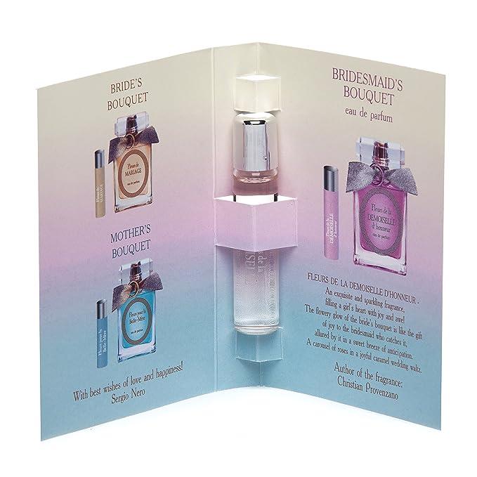 Fleurs de la demoiselle D honneur Eau de Parfum para las mujeres + 50 ml spray natural + 5 ml Roll-on miniatura + cierre de bolsa de papel - precio de ...