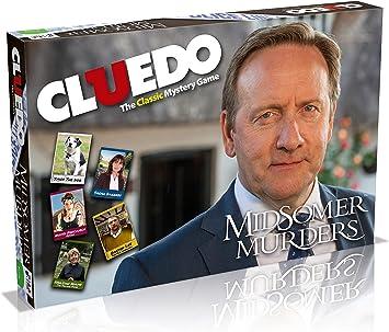 Juego de mesa Cluedo edición Los asesinatos de Midsomer: Amazon.es: Juguetes y juegos