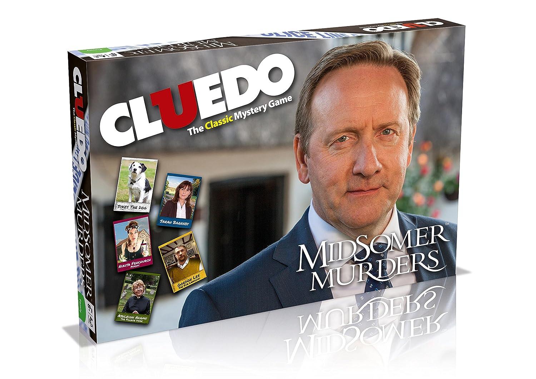 Juego de mesa Cluedo edición Los asesinatos de Midsomer: Amazon.es ...