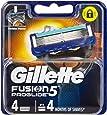 Gillette Fusion ProGlide Power Men's Razor Blades Refill Cartridges, 4 Pack, Mens Razors/Blades