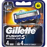 Gillette Fusion ProGlide Power Razor Cartridges Refill, 4ct