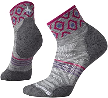 Amazon smartwool womens phd outdoor light pattern mini socks smartwool womens phd outdoor light pattern mini socks light gray small aloadofball Image collections