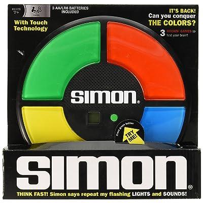 Simon Electronic Memory Game: Toys & Games