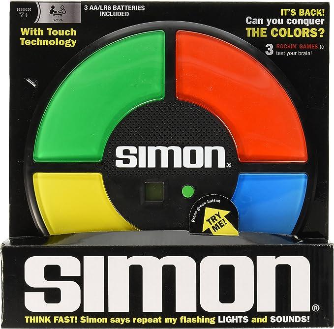 Simon Electronic Game - Juego de Simón dice (electrónico) [Importado de Inglaterra]: Amazon.es: Juguetes y juegos